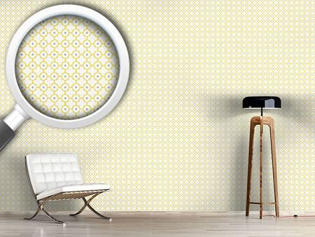 Design Wallpaper Quatrefoil