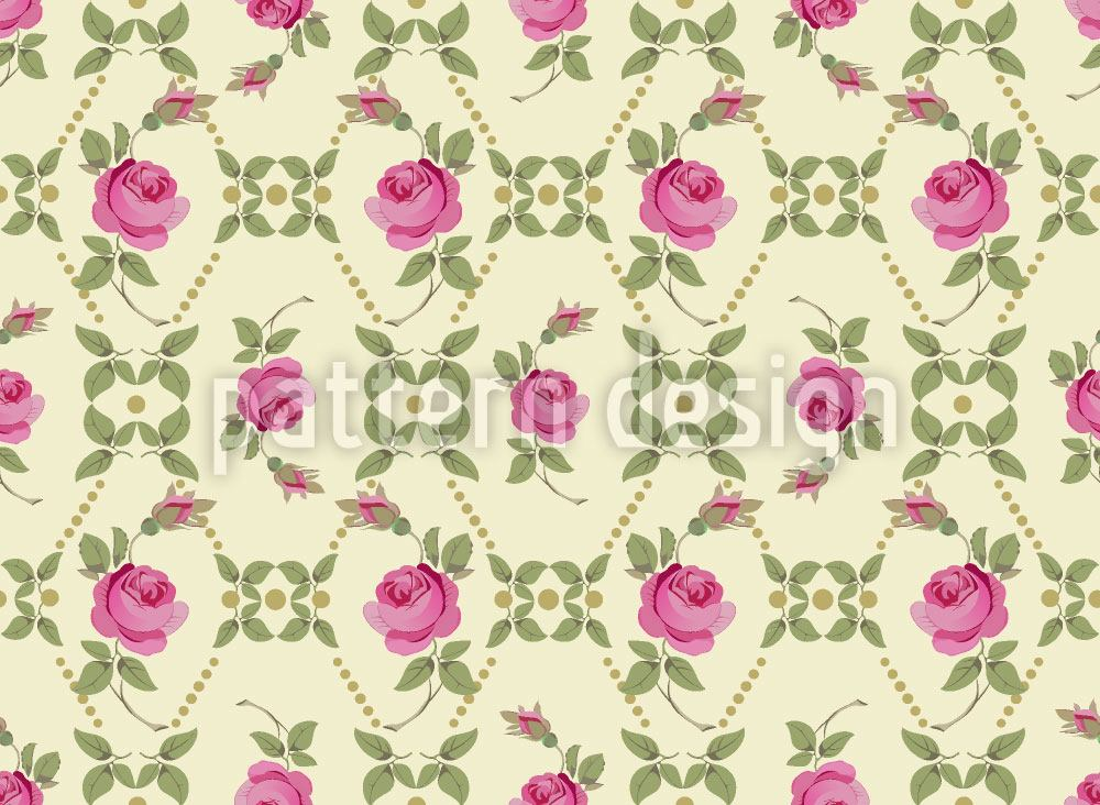 Design Wallpaper Vintage Roses