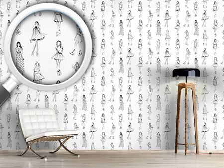 Design Wallpaper Fashion World for Women