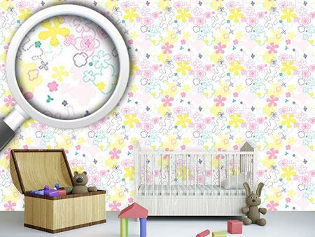 Design Wallpaper Dream Flower Garden