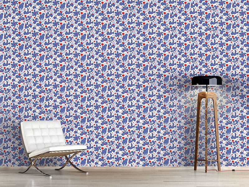 Design Wallpaper Scribble And Dots