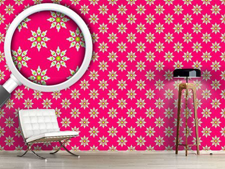 Design Wallpaper Flowers From India