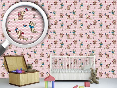 Design Wallpaper Cute Cuddly Animals