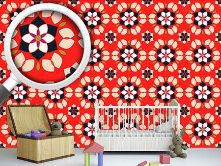 Design Wallpaper Flor De Lotto
