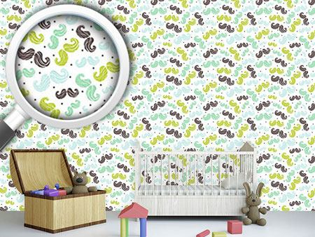Design Wallpaper Mustache