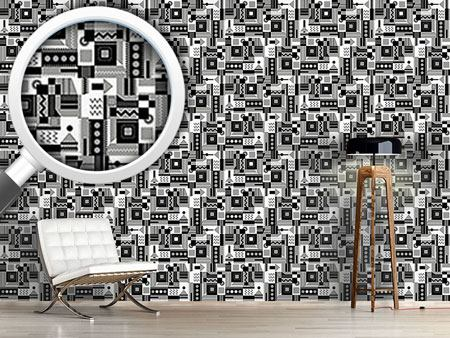 Design Wallpaper Zigzag Around