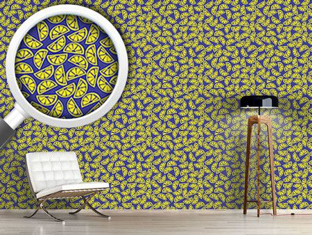 Design Wallpaper Slices Of Lemon