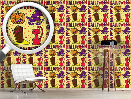 Design Wallpaper Halloween Greetings