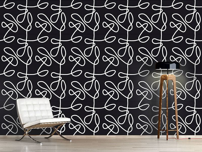 Design Wallpaper No Target Black