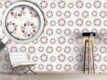 Design Wallpaper Swirly Carousel