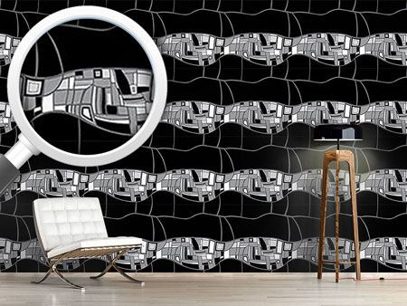 Design Wallpaper Stilismo Black