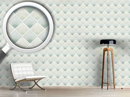 Design Wallpaper Art Deco Fan