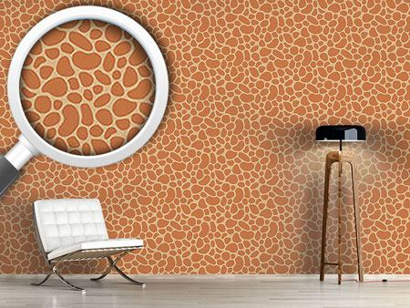 Design Wallpaper Giraffe Baby
