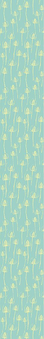 Design Wallpaper Thistle Silhouettes