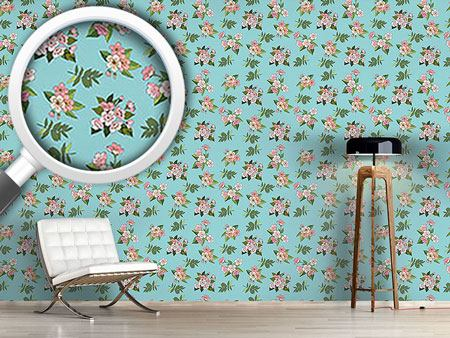 Design Wallpaper Cherry Blossoms