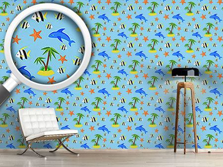 Design Wallpaper Tropical Island