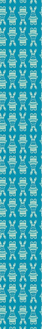 Papier peint design Funny Rabbit