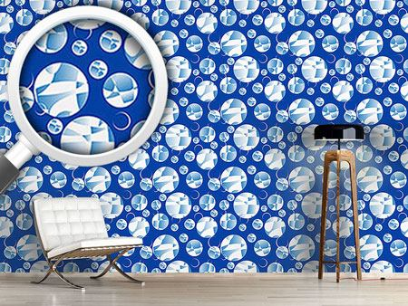 Design Wallpaper Crystal Balls