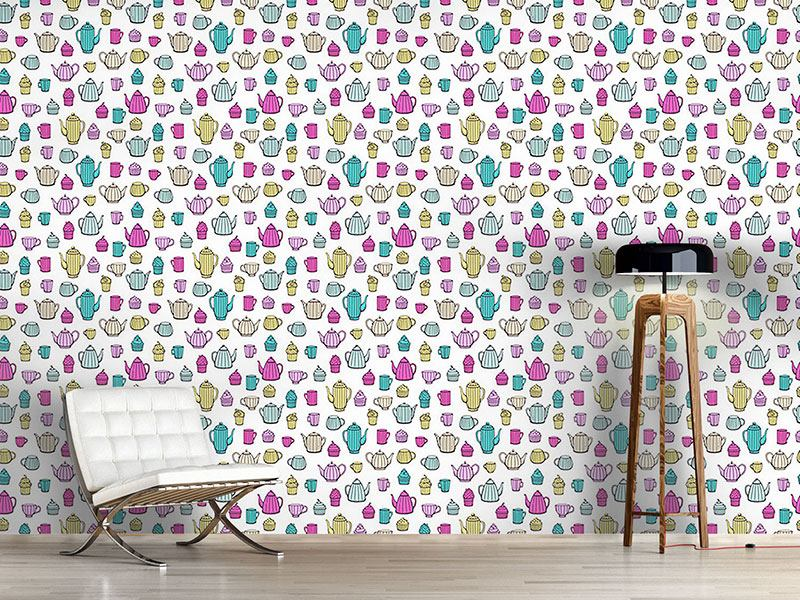 Design Wallpaper What The Can Pot Can