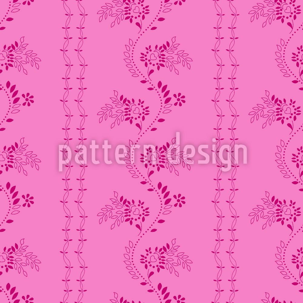 Design Wallpaper Flowers On Your Costume