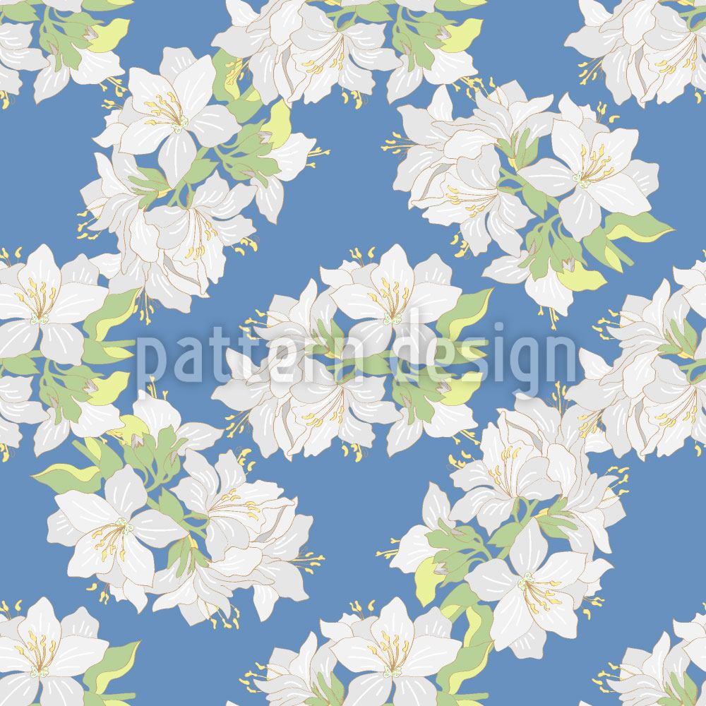 Design Wallpaper Lily Bouquet