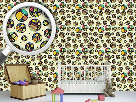 Design Wallpaper Party Circles