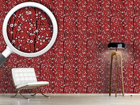 Design Wallpaper Cherry Tree