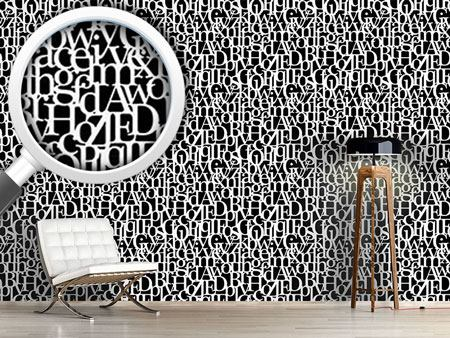 Design Wallpaper Letters Connected