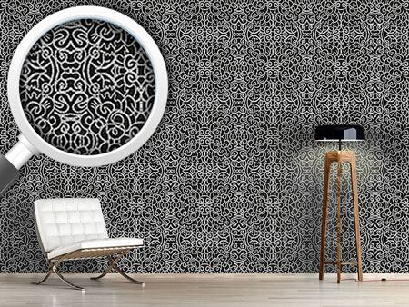 Design Wallpaper Punched Beauty