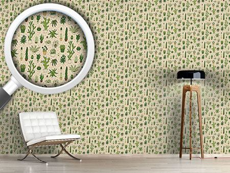 Papier peint design Cactus Collection