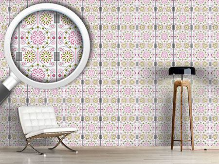 Design Wallpaper Korean Flower