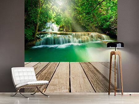 Photo Wallpaper Waterfall Thailand