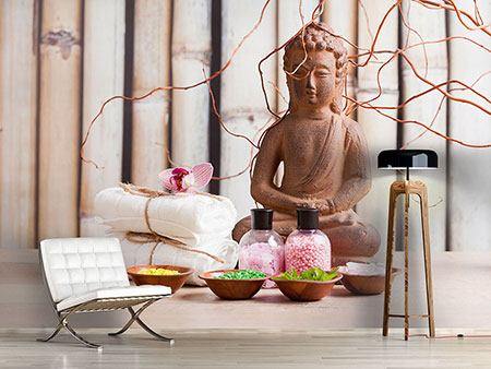 Photo Wallpaper Buddha & Wellness