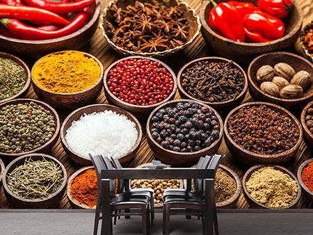 Photo Wallpaper Hot Spices