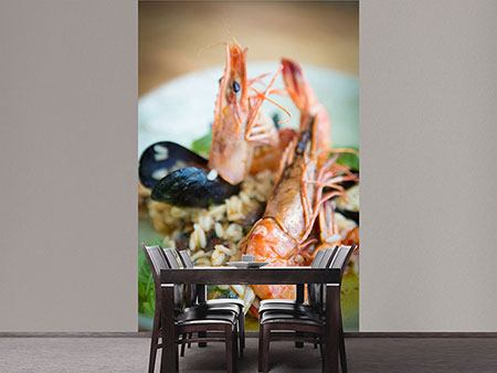 Photo Wallpaper Seafood