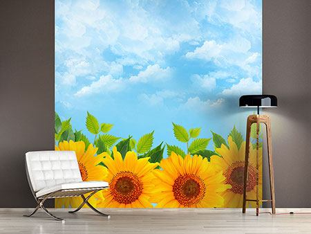 Photo Wallpaper Suns Flowerpower