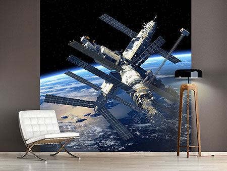 Photo Wallpaper Space Station