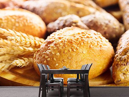 Photo Wallpaper Bread Roll