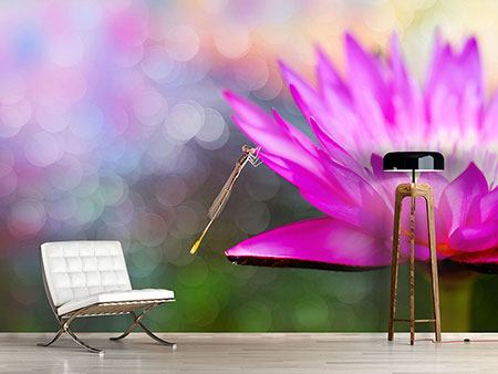 Photo Wallpaper Visit The Waterlily