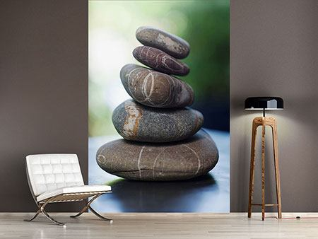 Photo Wallpaper Stone Stack