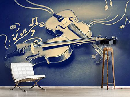 Photo Wallpaper Violins