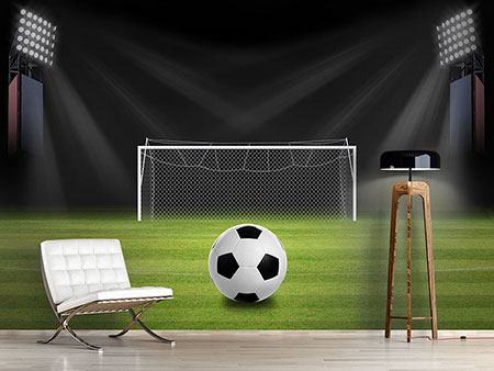 Photo Wallpaper Soccer-Goal