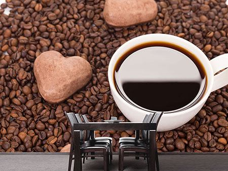 Photo Wallpaper Lovely Coffee Break