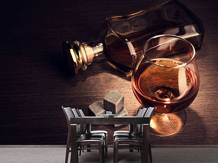 Photo Wallpaper A Glass Of Cognac