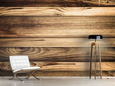 Photo Wallpaper Wood Trend