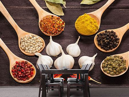 Photo Wallpaper Italian Spices