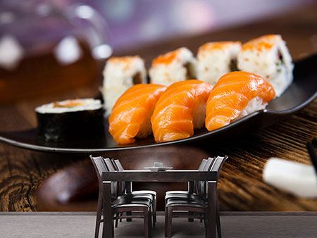 Photo Wallpaper Sushi Dish