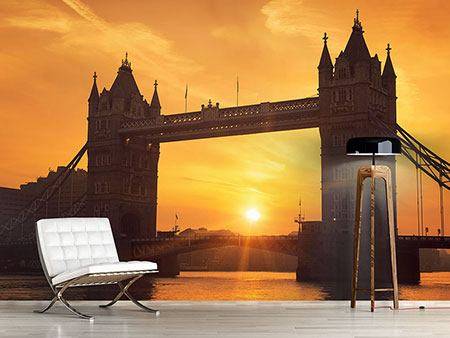 Photo Wallpaper Sunset At Tower Bridge