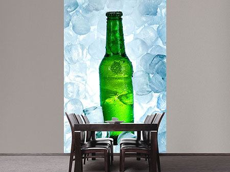 Photo Wallpaper Iced Beer