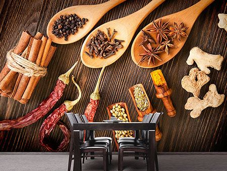 Photo Wallpaper Oriental Spices